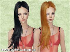 Skysims Hair 180 Mesh