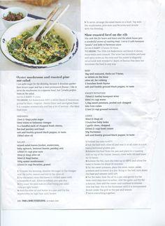mushroom and pinenut salad