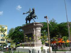 Plaza Morazan de hoy, San Salvador, El Salvador