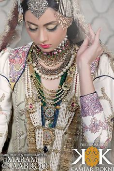 The #Bridal Week collection from The House of Kamiar Rokni by Maram