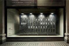 Kenetic window displays by Nike for Selfridges