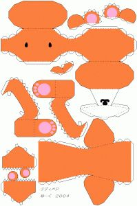 ... Templates | Free Template and Tutorial: Cute Teddy Bear Paper Model