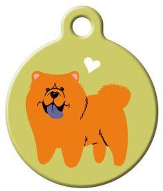 Chow Chow  Dog ID Tag