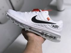 3e8aa056b44 Mens Womens Shoes Nike Air Max 2017 Off White Black 849560 010 Nike Shoes