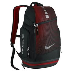 8190d6a31959a2 Nike Hoops Elite Max Air Graphic Basketball Backpack BlackUniversity  RedSilver * This is an Amazon Affiliate