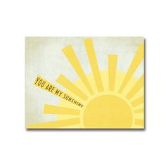 8x10 Simple Sunshine - Digital Art Printable (300dpi .JPG to Print On Your Own). $9.00, via Etsy.