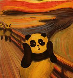 people favourite pandas paintings GIF