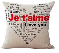"""What better way to express your love then gifting these beautiful """" Love quotes """" cushion covers, or simply buy them and create a little love corner at your hom Cheap Sofas, Cheap Chairs, Cushion Covers, Pillow Covers, Cushion Pillow, Throw Pillow Cases, Throw Pillows, Romantic Wedding Gifts, Beautiful Love Quotes"""