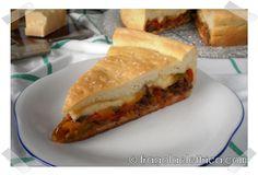RUSTICO DI MELANZANE E PEPERONI fragolaelettrica.com Le ricette di Ennio Zaccariello #Ricetta