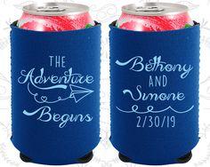 The Adventure Begins, Neoprene Wedding, Kite, Destination, Neoprene Wedding Favors (294)