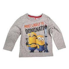 Most Likely To Dominate Minions Red Long Sleeved T-shirt