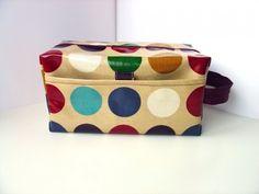 duza kosmetyczka box (proj. dotty spots)