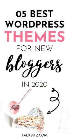 The best WordPress themes for bloggers in 2020! Looking for the best WordPress themes in the market to dazzling your readers? The best theme for your WordPress site doesn't need to be a popular one. But it must be best for your needs and your audience. If you're a beginner looking for the best WordPress themes - no code skills needed, you need to read this guide! #startablog #blogging #wordpress #wordpressthemes #bloggingforbeginners