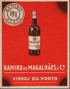 Vintage 1927 Ramiro de Magalhães | Vinho do Porto Portugal