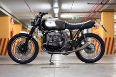 BMW Boxer custom motorcycle by Officine Rossopuro   left side