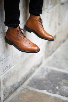 Men's oxford boots. #mensstyle #menswear #boots