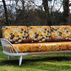 I love this bee couch from Timorous Beasties.