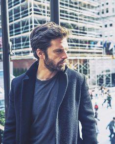 Sebastian Stan photographed by An Rong Xu for The New York Times (2017)  — #sebastianstan #thenewyorker #photography #photoshoot #newyork #rockefellercenter #nyc
