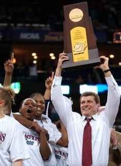Gino Auriemma, Head Coach for the lady UConn Huskies, has won 7 National Titles with Connecticut.