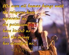 We were all human beings...