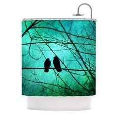 Smitten Shower Curtain