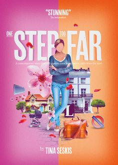 One Step Too Far - Book Cover by Brand Nu, via Behance