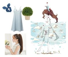 """Mother Nature's daughter"" by eno-scarlet ❤ liked on Polyvore featuring Dorothy Perkins"