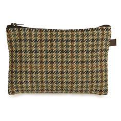Handmade Tweed Zip Pocket – Limited Edition. River Dee.