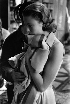 Grace Kelly on the set of High Society, Hollywood, 1956.