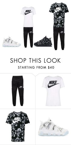 """""""me&baby girl"""" by lightskin-434 on Polyvore featuring NIKE"""