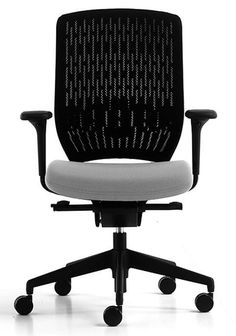 Evolve task chair Available at www.rainbowdesign.co.uk