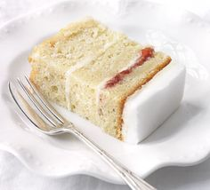 A moist cake drenched with vanilla syrup. Use as the basis for a range of fabulous celebration cakes