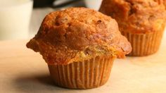 Healthy Carrot Muffins, add a splash of water. Use 3/4 cup of canola oil.
