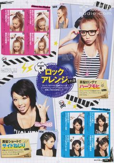 Yun Shock Blog: Rokku gyaru hair tutorials (if u dont know what a rokku gyaru is u should check out this)