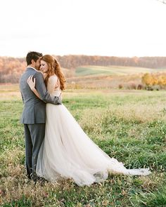 Golden hour = every hour when the leaves are this bronze! We love a good outdoor shot from a Central Virginia autumn wedding with a Blue Ridge view. Just look at these rolling hills! Photo by Fall Mountain Wedding, Autumn Wedding, Vineyard Wedding Venues, Shenandoah Valley, Blue Ridge, Golden Hour, Got Married, Virginia, Bronze