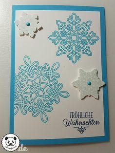 Stampin Up, SU, Stempelpanda, Weihnachten, Christmas, Flockenzauber, Flurry of Wishes