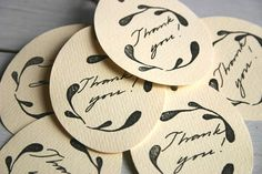 tags on wedding favors