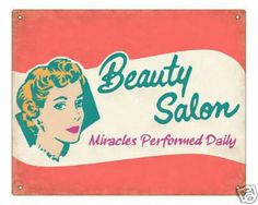 Old style beauty salon