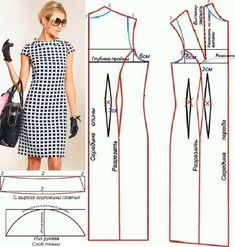 Amazing Sewing Patterns Clone Your Clothes Ideas. Enchanting Sewing Patterns Clone Your Clothes Ideas. Dress Sewing Patterns, Sewing Patterns Free, Clothing Patterns, Free Pattern, Pattern Sewing, Skirt Patterns, Pants Pattern, Sewing Blouses, Sewing Pants
