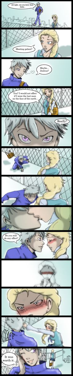 Jelsa AU by deviart4ever.deviantart.com on @deviantART
