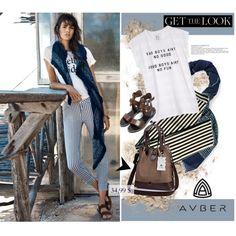 Look by svijetlana on Polyvore featuring moda, Zoe Karssen, Zara, Tory Burch, Summer, polyvoreeditorial and avber
