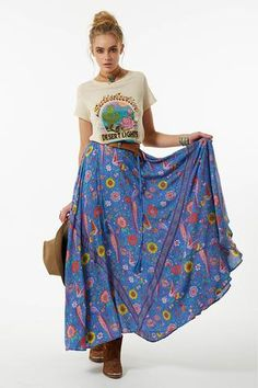 Lovebird Half Moon Skirt | Spell & the Gypsy Collective