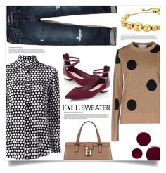 """""""Fall Fashion"""" by cheryl-82 ❤ liked on Polyvore featuring Dolce&Gabbana, Yves Saint Laurent, Paul Mémoir, Hollister Co., Lipsy, Michael Kors, Burberry and fallsweaters"""