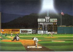 Candlestick Park by Andy Jurinko