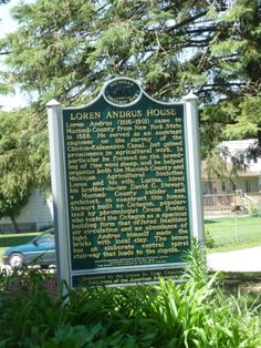 The Loren Andrus Octagon House, also known as Washington Octagon House, is an historic octagonal house located at 57500 Van Dyke Street just north of 26 Mile Road in Washington Township, Macomb County, Michigan. Michigan Historic Site Sign.