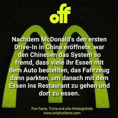 67 unglaubliche Fakten über Autos Drive In, First Drive, Car Facts, Funny Facts, In China, Volvo, Nissan, Volkswagen, Porsche
