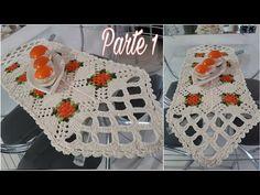 Caminho de Mesa Veneza Parte 1 ♡ Execução e União dos Square - YouTube Crochet Baby Shoes, Crochet Hats, Crochet Carpet, Origami, Cute Outfits, Blanket, Pink, Crafts, Embroidery