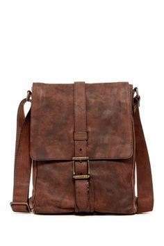 Frye | Logan Small Leather Messenger |  Sponsored by Nordstrom Rack. ==