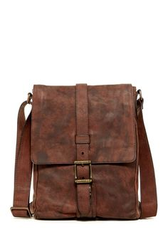 Frye | Logan Small Leather Messenger | Sponsored by Nordstrom Rack.