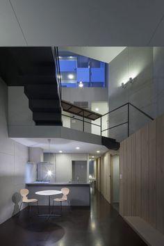 House in Ningyo-cho / K+S Architects